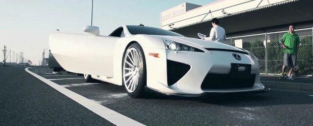 Unicul Lexus LFA modificat din lume se afla in Japonia