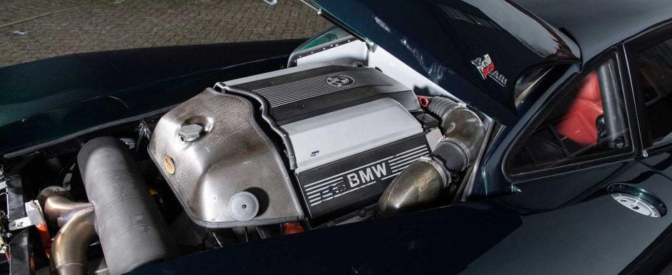 Unii nici nu stiu ca o asemenea masina exista. Motorul este un V8 de BMW pozitionat central