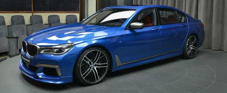 Unii spun ca-i culoarea suprema de la BMW. Acum imbraca un Seria 7 cu motor V12 sub capota