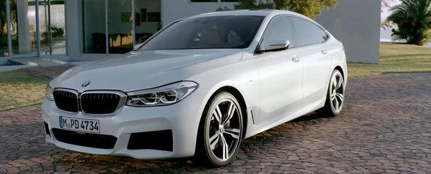 Unii spun ca-i inutil, altii ca-i urat. Poate clipul asta iti va schimba parerea despre noul BMW Seria 6 Gran Turismo