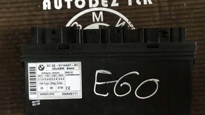 Unitate centrală calculator confort BMW E60 cod 5WK49111