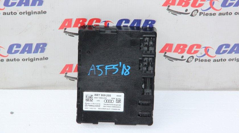 Unitate control decapotare Audi A5 (F5) cabrio cod: 8W7959255 model 2018