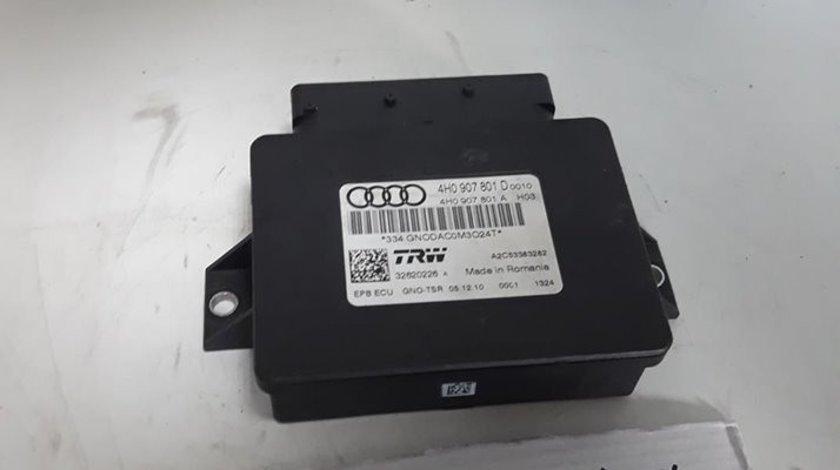 Unitate control frana de mana Audi A8 4H D4 2012 3.0 TDI cod: 4H0907801D