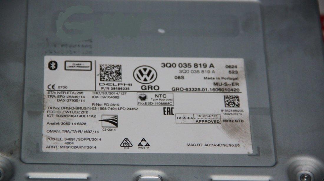 Unitate media VW Golf 7 cod: 3Q0035819A model 2015