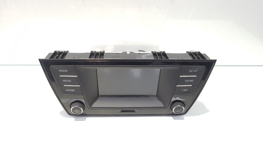 Unitate multimedia, cod 6V0035869, Skoda Fabia 3 Combi (NJ5) (idi:388274)