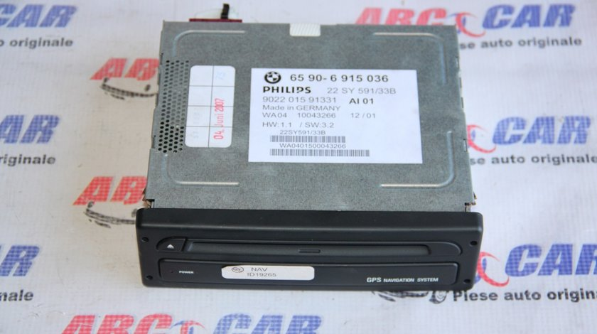 Unitate navigatie BMW Seria 3 E46 cod: 6590-6915036 model 2002