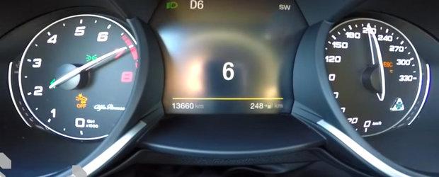 Unul dintre cele mai rapide SUV-uri pe care le poti cumpara. 0-270 de km/h cu STELVIO QUADRIFOGLIO