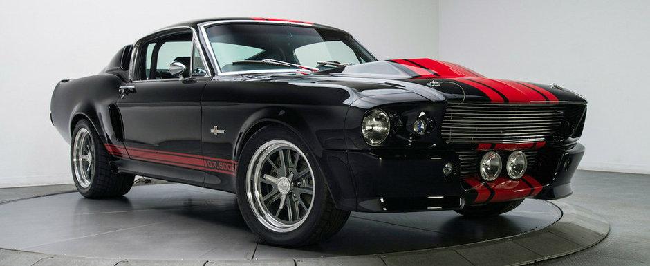 Unul dintre cele mai rare Mustang-uri din istorie a fost scos la vanzare. Are motor V8 de 7.9 litri si NOS