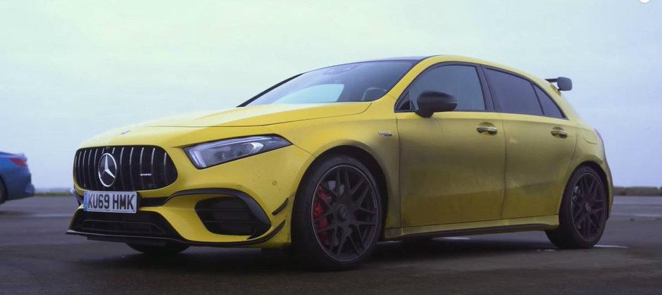 Unul este un hot-hatch mega rapid iar celelalt cel mai puternic BMW de serie din istorie. Care-i mai tare la liniute