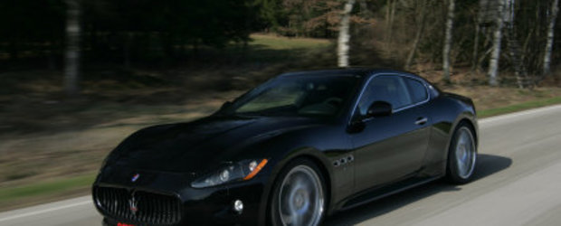 Update Foto: Maserati GranTurismo S tunat de Novitec Tridente