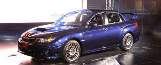 Update! Noul Subaru Impreza STI 2011, poze oficiale!