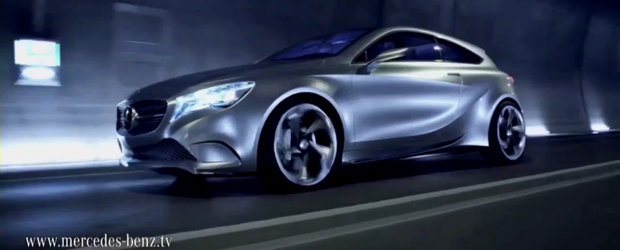 Update Video: Acesta este noul Mercedes A-Class Concept