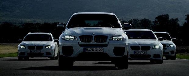 UPDATE VIDEO: BMW dezvaluie noile M550d, X5 M50d si X6 M50d!