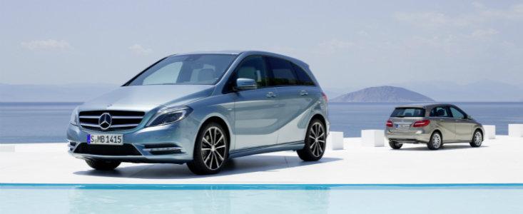 UPDATE VIDEO: Mercedes dezvaluie noua generatie a modelului B-Class