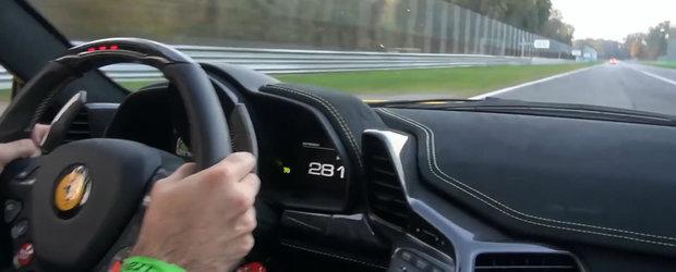 Urca la bordul unui Ferrari 458 Speciale pentru o tura in viteza la Monza