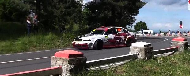 Urcarea lui Alex Mirea cu un Audi de peste 500 cp ne injecteaza cu o supradoza de adrenalina