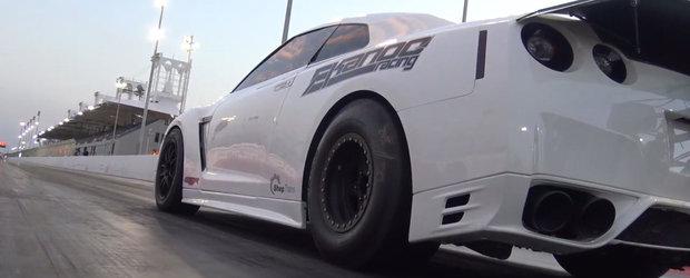 Urmareste in actiune cel mai rapid Nissan GT-R al planetei. Nu clipi ca il ratezi!