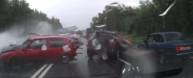 Urmarile acvaplanarii ilustrate de un accident violent