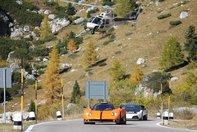 Urmarire intre Pagani Zonda Cinque si Lamborghini Murcielago LP640 de politie!