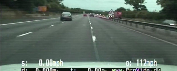 Urmarire la 180 km/h: Politia alearga dupa o Mazda6 plina cu droguri
