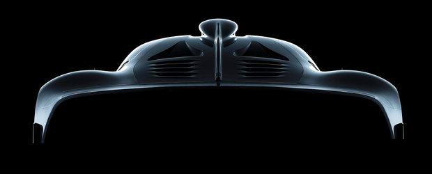 Urmatoarea masina de strada de la Mercedes va avea un motor de 1.6 litri si 1000 CP