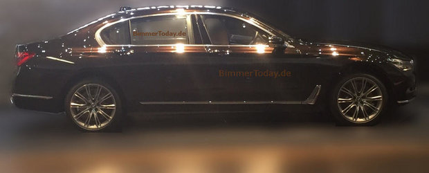Urmatorul BMW Seria 7 ni se arata (si) din profil