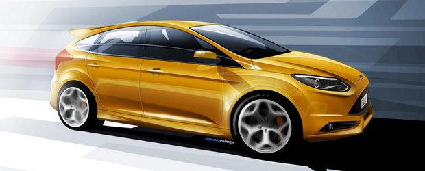 Urmatorul Ford Focus RS vine in 2015, promite 335 cai putere