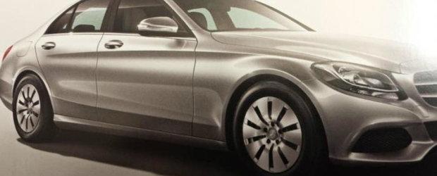 Urmatorul Mercedes C-Class apare intr-o noua imagine