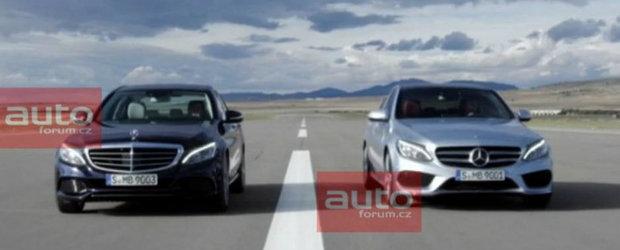 Urmatorul Mercedes C-Class ni se arata astazi in noi poze oficiale