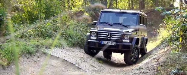 Urmatorul VIDEO ne arata de ce Mercedes-ul G-Class e considerat off-roader-ul suprem
