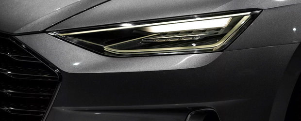 Urmeaza sa concureze cu Mercedes CLS. Uite cum arata noul Audi A7, acum ca a fost scapat pe internet