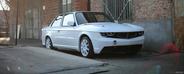 Ursul la a doua tinerete: Tuning inedit pentru BMW E30