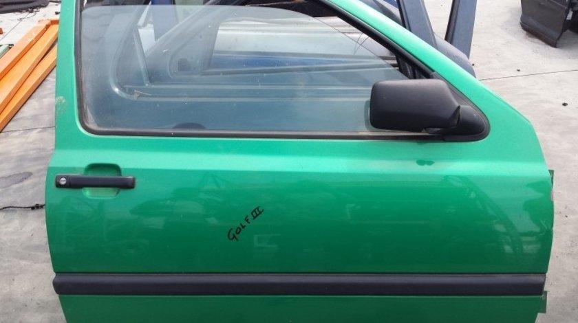 Usa Fata Dreapta Volkswagen Golf III (MK3 1991-1997) oricare Verde, 2 USI