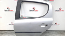 Usa stanga spate, Peugeot 207 (WA) [Fabr 2006-2012...