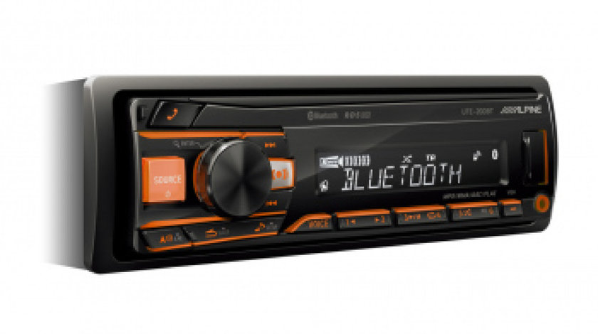UTE-200BT Alpine Car audio, Player USB/Bluetooth Multicolor