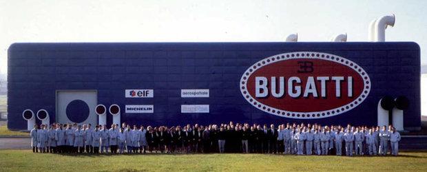 Uzina Bugatti parasita de 25 de ani este cel mai trist lucru pe care il vei vedea azi