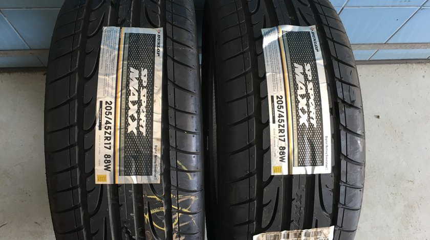 Vând 2 anvelope 205/45/17 Dunlop de vara noi