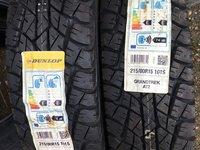 Vând 2 anvelope 215/80/15 Dunlop M+S