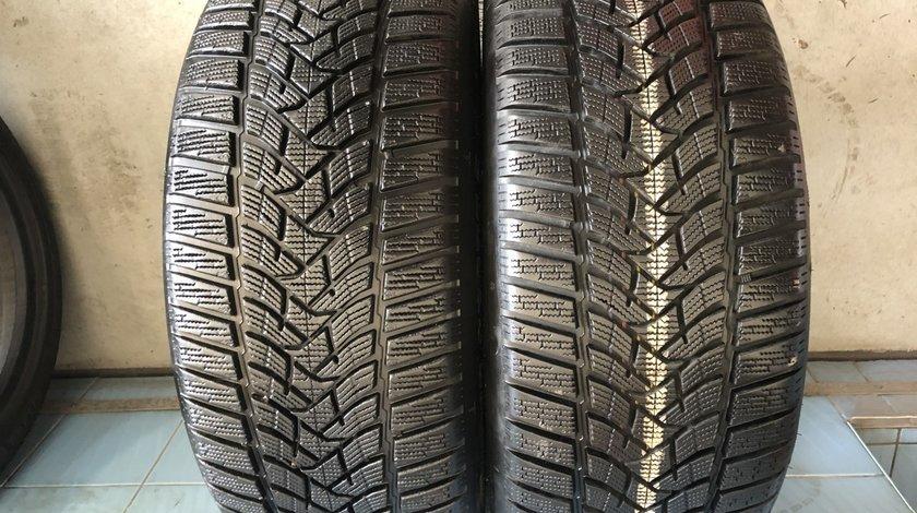 Vând 2 anvelope 245/45/18 Dunlop de iarnă ca noi