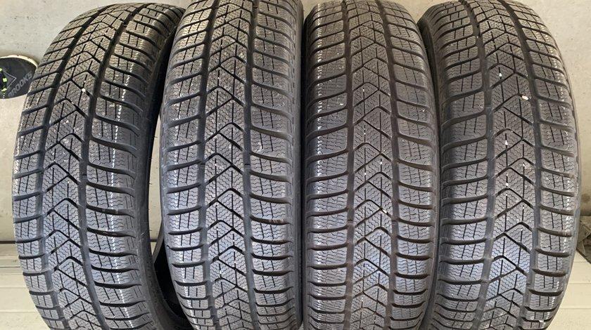Vând 4 anvelope 195/55/20 Pirelli de iarnă ca noi