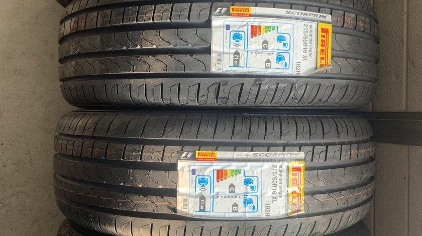 Vând 4 anvelope 215/65/16 Pirelli de vară noi