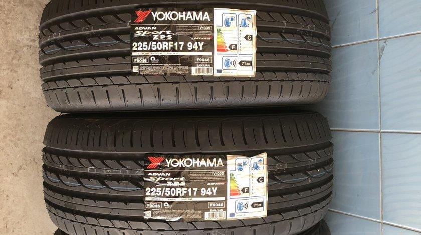 Vând 4 anvelope 225/50/17 Yokohama noi de vară runflat