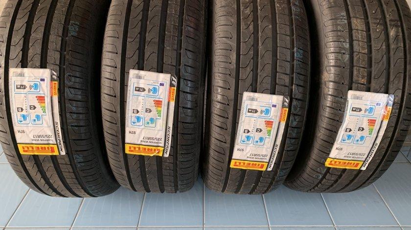 Vând 4 anvelope 225/55/17 Pirelli de vară noi