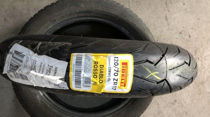 Vând anvelopă 120/70/17 Pirelli nouă