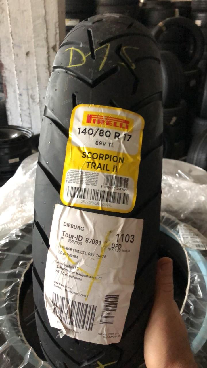Vând anvelopă 140/80/17 Pirelli nouă