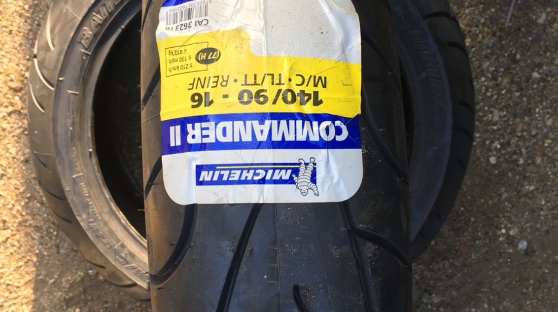 Vând anvelopă 140/90/16 Michelin nouă