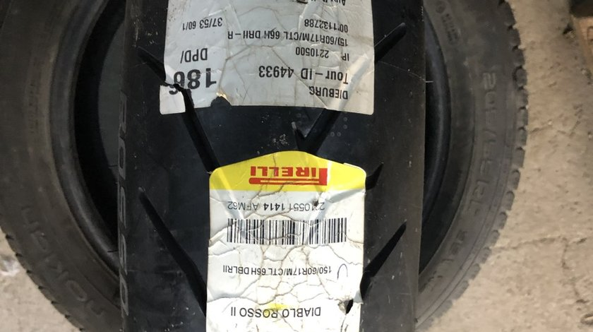 Vând anvelopă 150/60/17 Pirelli nouă