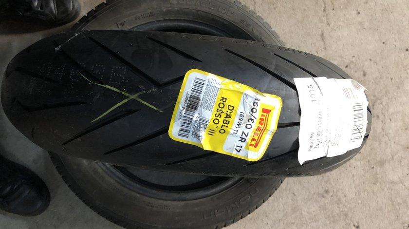 Vând anvelopă 160/60/17 Pirelli nouă