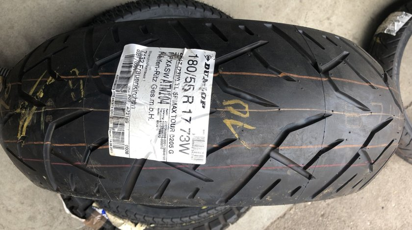 Vând anvelopă 180/55/17 Dunlop nouă
