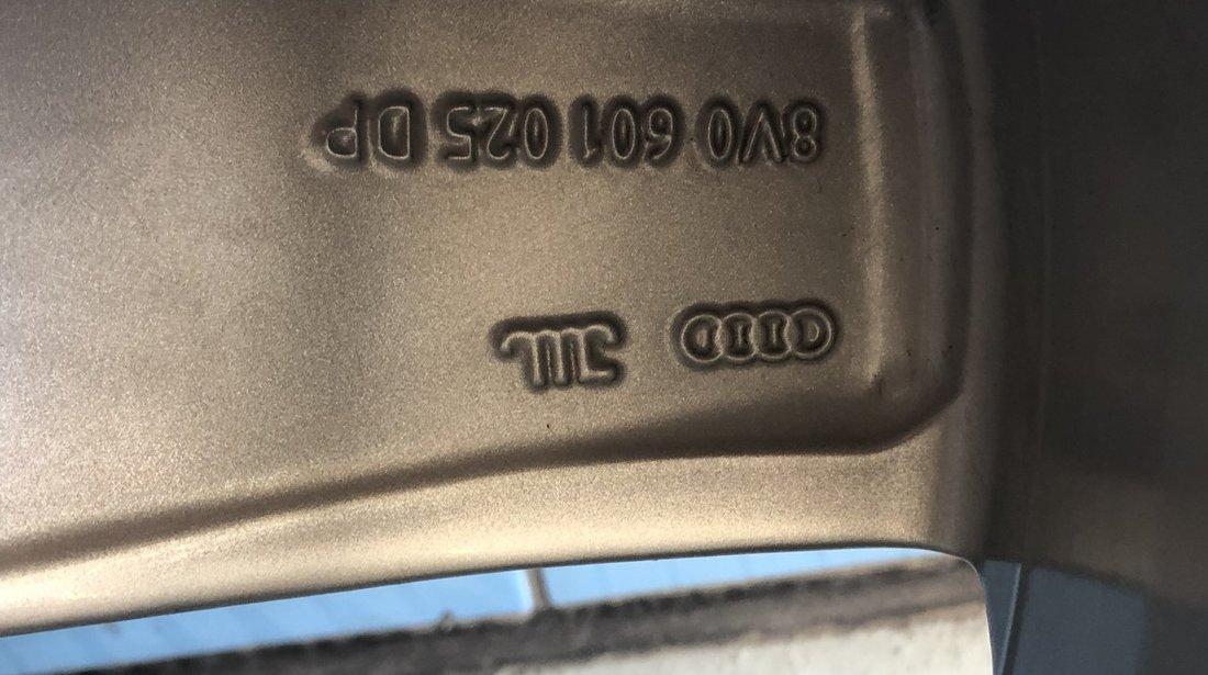 """Vând jante aliaj Audi originale pe 17"""" noi"""